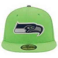 Seattle Seahawks NFL New Era 59Fifty fitted hat NWT new with stickers Hawks