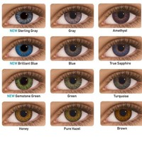 Makeup eye contact lenses Cosmetic Color Fast & FREE CASE FREE SHIPPING