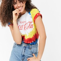 Tie-Dye Enjoy Coca-Cola Graphic Tee