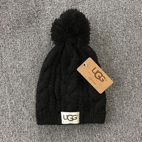 PEAPON UGG Woman Men Fashion Winter Knit Hat Cap