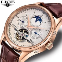 Skeleton Watches For Men - Men Automatic Mechanical Watch