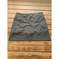 Athleta Gray Athletic Skort (XSP)