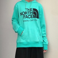 The North Face PURPLF printed hoodie for casual women