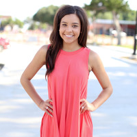 Must Have It Tank - Coral