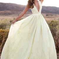 BELLE GOWN (YELLOW)