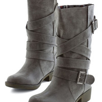 ModCloth Whiskey Tasting Boot