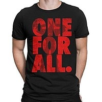 One for All - My Hero Academia Inspired Men's T-Shirt