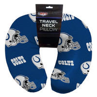 Indianapolis Colts NFL Beadded Spandex Neck Pillow (12in x 13in x 5in)