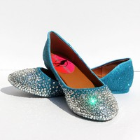 Swarovski Crystal Ballet Flat (Your Choice of Colors)