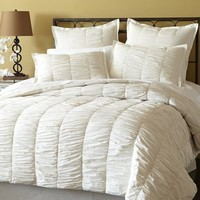 Truffle Quilted Bedding - Ivory