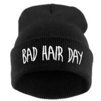 Bad Hair Day Adult Elastic Knitted Cap