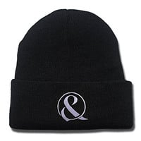 Of Mice & Men Band Logo Beanie Fashion Unisex Embroidery Beanies Skullies Knitted Hats Skull Caps