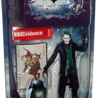 Dark Knight Action Figures:The Joker with Crime Scene Evidence