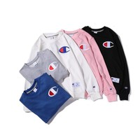 Champion Chest Embroidery Big Logo Sweater Pullover Sweatshirt