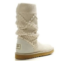 UGG Women Fashion Wool Winter Snow Boots High Boots Shoes-1