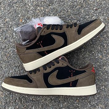 Travis Scott x Air Jordan 1 Low OG SP CQ4277-001