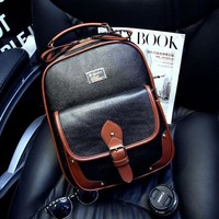 Hot Deal On Sale Casual College Comfort Back To School Stylish Fashion England Style Vintage Decoration Backpack [6582346631]
