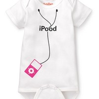 iPood in Pink Baby Bodysuit by Sara Kety  - Whimsical & Unique Gift Ideas for the Coolest Gift Givers