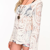 Embroidered Bell Sleeves Top - LoveCulture