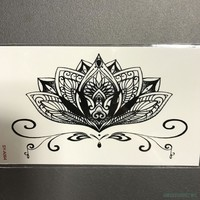Etched Lotus Tatto