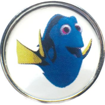 Dory From Finding Nemo 18MM - 20MM Fashion Snap Jewelry Snap Charm