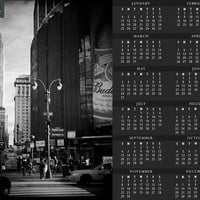 Empire and the Garden - 2015 Fine Art Photography One Page Calendar - Individually or as a set of 4
