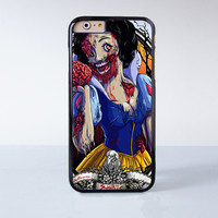 Zombie Snow White Princess Movie Plastic Case Cover for Apple iPhone 6 6 Plus 4 4s 5 5s 5c