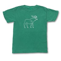 Moose Short Sleeve Tee