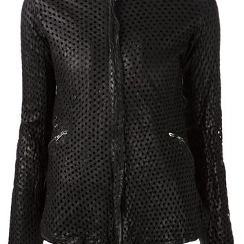Giorgio Brato perforated jacket