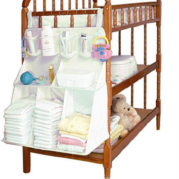 Large Hanging Crib Organizer by Baby in Motion