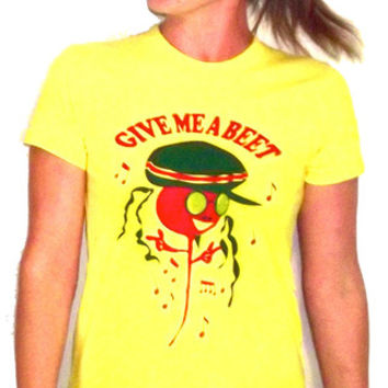 Give me a beet t-shirt supports children's health education
