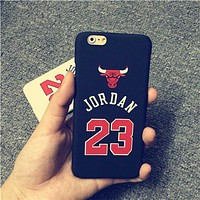 Jordan Chicago Bulls Case for iPhone 5 5s 6 6 Plus