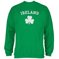 St. Patrick's Day - Ireland Shamrock Green Adult Sweatshirt