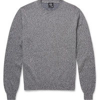 McQ Alexander McQueen - Marled Cotton Sweater | MR PORTER
