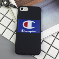 Blue Champion Phone Case for iPhone