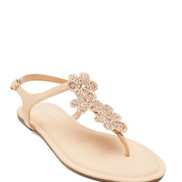 Raku-40 Metal Ring Sandal