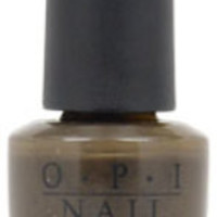 Women OPI Nail Lacquer - # NL T27 Get in the Expresso Lane Nail Polish