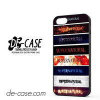 Supernatural TV Series Logo DEAL-10381 Apple Phonecase Cover For Iphone 5 / Iphone 5S