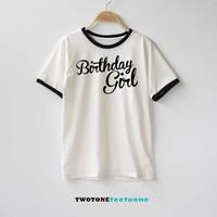 Birthday Girl Shirt TShirt T-Shirt T Shirt Tee