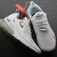 OFF White Nike Air Max 270 AH8050-100 Sport Running Shoes - Best Online Sale