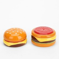 Double Cheese Burger Salt & Pepper Shaker-Set Of 2 - Urban Outfitters