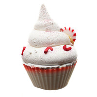 Limited Edition Seasonal Candy Cane Cupcake Soap