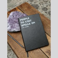 People To Cast Spells On Notebook - Gypsy Warrior