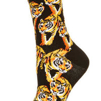 Black Tiger Ankle Socks - Basic Offers  - Sale & Offers