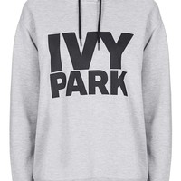 Oversized Logo Hoodie by Ivy Park - Topshop