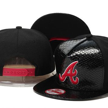 Perfect MLB Atlanta Braves hats Women Men Embroidery Sports Sun Hat Baseball Cap Hat