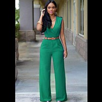 New women fashion jumpsuits Siamese pants