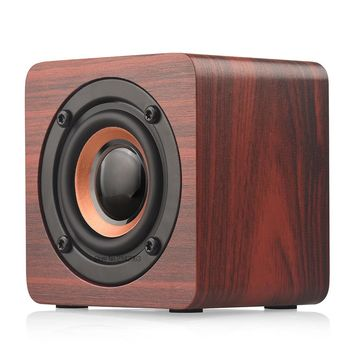 SADA 2018 New Wooden Bluetooth speaker suitable for mobile phone notebook speaker PC socket mini speaker bass sound