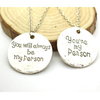 Grey's Anatomy Inspired Love Necklace