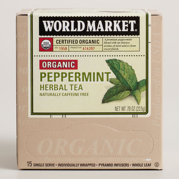 World Market Organic Peppermint Herbal Tea